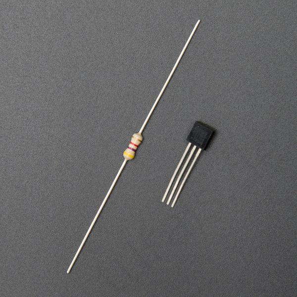 Arduino mit einem DS18B20 Temperatur Sensor