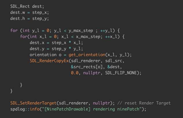 Code syntax highlighting