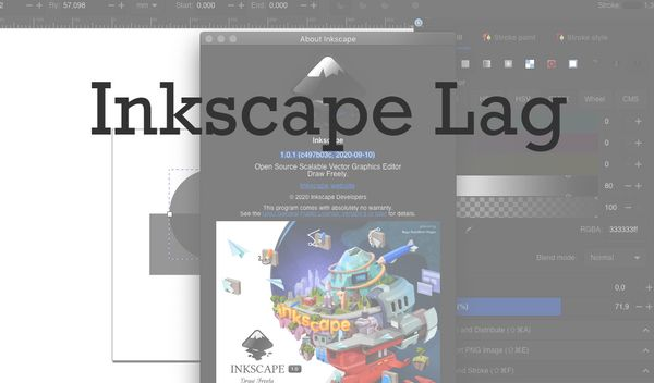 Inkscape 1.0: How-To Fix Lags in Mac OS X